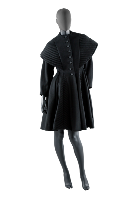 Byronesque-Online-Vintage-1940s-Coat-Gill Linton-NY-Vintage-Creative-Mapping