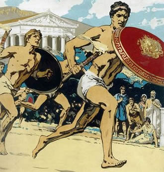 776-BC-first-Olympic-games-ancient-olympia-greece-Creativity-in-London-Creative-Mapping-Review-London-2012-Olympics