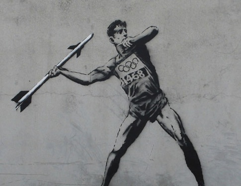 Banksy-2012-Creativity-in-London-Creative-Mapping-Review-London-2012-Olympics