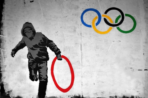 Banksy-olympics-Creativity-in-London-Creative-Mapping-Review-London-2012-Olympics