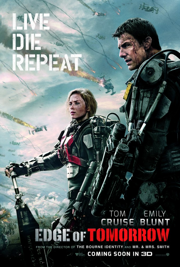 Edge-Of-Tomorrow-Poster-Tom-Cruise-Emily-Blunt-Photo-Copyright-Warner-Bros-Entertainment-Inc-Pictures-Doug-Liman-Interview-by-Creative-Mapping