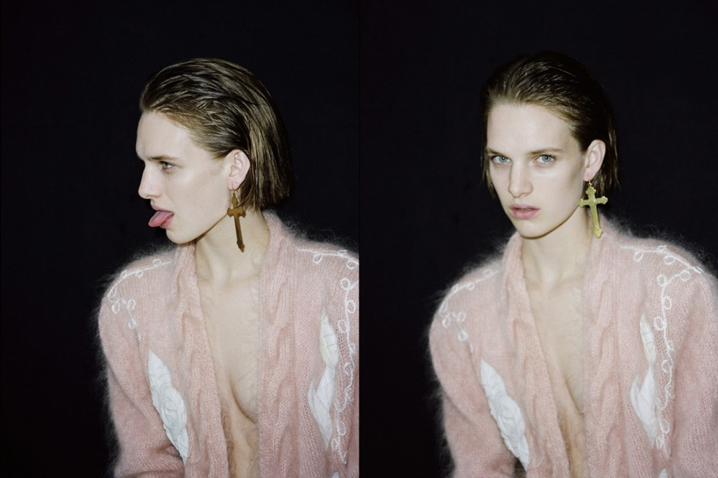 Emma-Picq-Photographer-cross-earings-Creative-Mapping-Art-Rock-and-Roll-Fashion