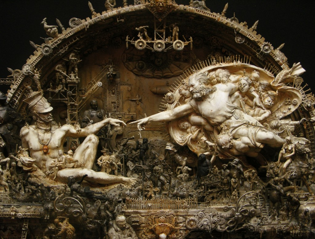 Kris-Kuksi-Sculptures-The-Art-of-The-Macabre-Creative-Mapping