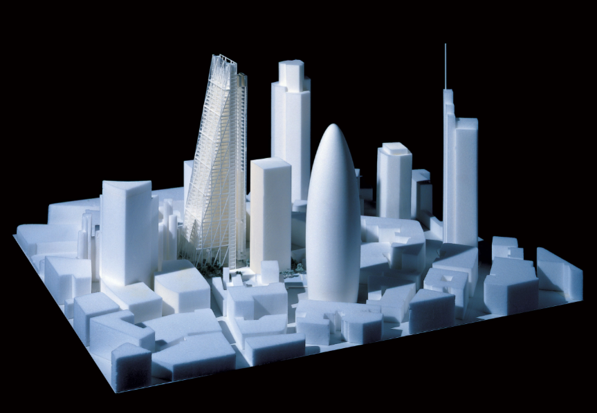 Mike Fairbrass Architectural Model Maker London Creative Mapping