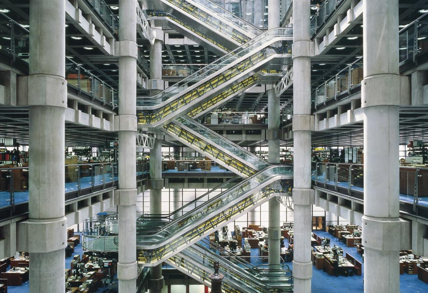 Richard-Rogers-Architecture-Lloyds of London-interview-by-Creative-Mapping