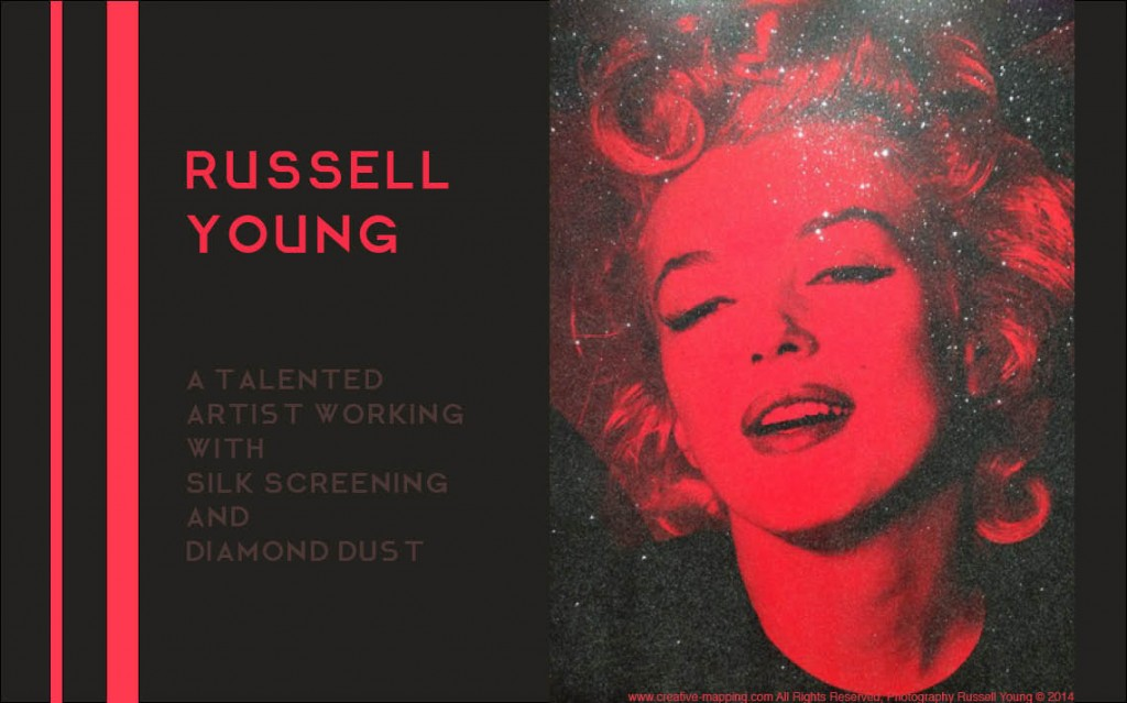 Interview-with artist-Russell-Young-by-Creative-Mapping