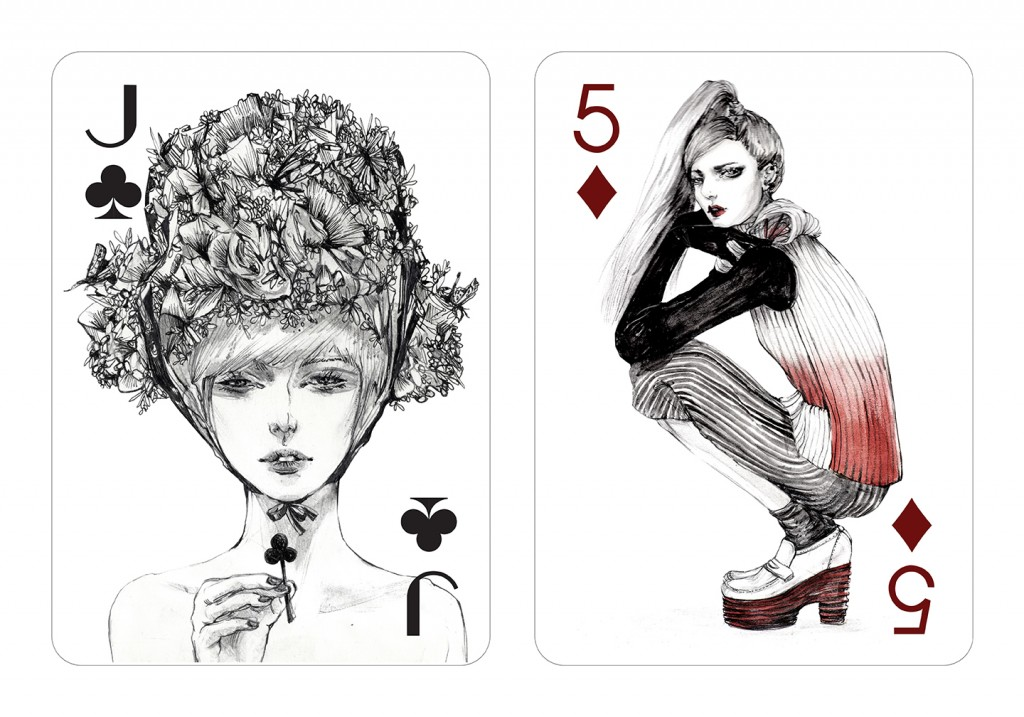 Playing-cards-designed-by-illustrator-artist-Connie-Lim-Interview-by-Creative-Mapping-2015