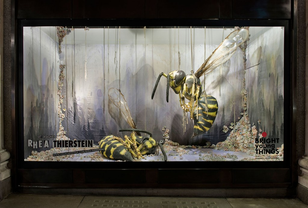 Andrew-Meredith-Selfridges-wasp-window-Creative-Mapping