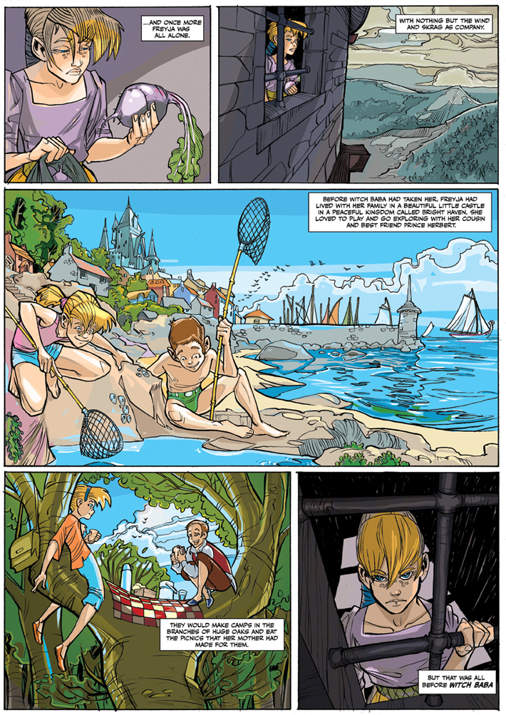 OliverHarud-PRINCESS FREYJA AND [the escape from] THE TOWER OF LOST DREAMS7