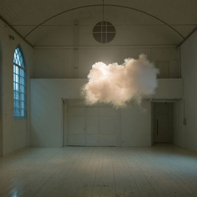 Berndnaut Smilde, At Teresa's, Boulder, Colorado, US, 2015, digital c-type print, photo by Ascended Lens Visuals, courtesy the artist and Ronchini Gallery-2 copy