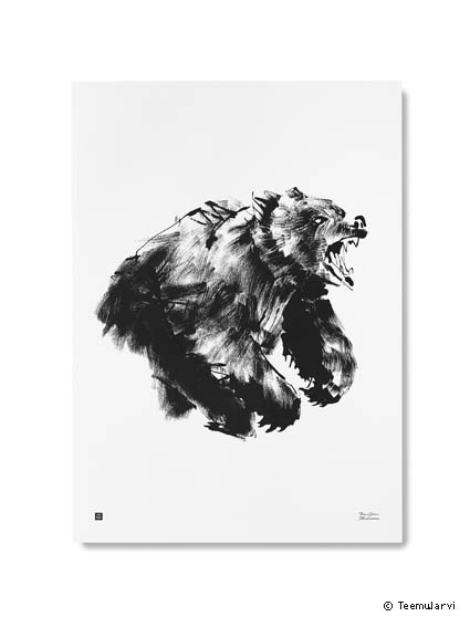 poster-teemujarviillustrations_bearposter-copy-teamjarvi-creativemapping-maisonobjet-copy