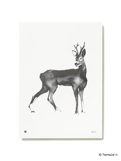 poster-teemujarviillustrations_forestgreetingsposter_roedeer_photountorautiohr-teamjarvi-creativemapping-maisonobjet-copy