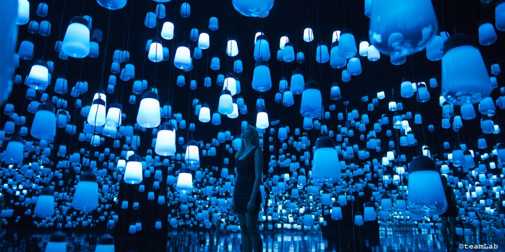 teamLab-maisonobjet-forestofresonatinglights-creativemapping-2